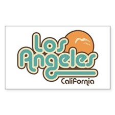 Los Angeles California Rectangle Decal