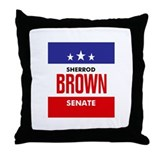Brown 06 Throw Pillow