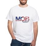 MOB Rules! Men's White T-Shirt