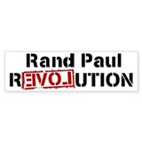 Rand Paul Bumper Car Sticker