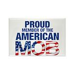 Proud Member of American MOB Rectangle Magnet