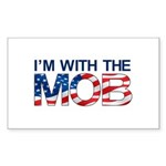 I'm with the MOB Rectangle Sticker