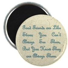 "Friends are like Stars 2.25"" Magnet (10 pack)"