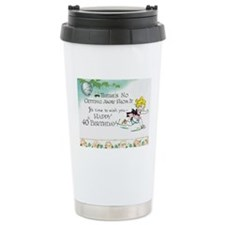 40th Birthday Ceramic Travel Mug