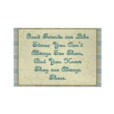 Friends are like Stars Rectangle Magnet (10 pack)
