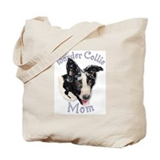 Border Collie Mom's Tote Bag