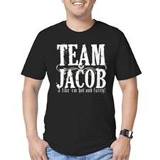 Team Jacob 3 Men's Fitted T-Shirt (dark)