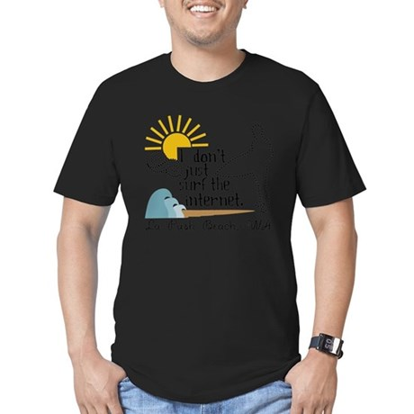 La Push Beach Men's Fitted T-Shirt (dark)
