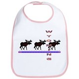 Wyoming Moose Bib