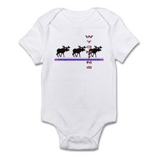 Wyoming Moose Infant Bodysuit