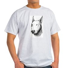 Bull Terrier Ash Grey T-Shirt