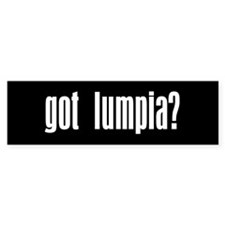 Got Lumpia? Gift Bumper Car Sticker