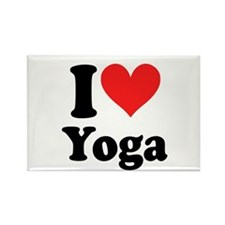 I Heart Yoga: Rectangle Magnet (10 pack)