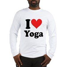 I Heart Yoga: Long Sleeve T-Shirt