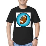 Football 2 Men's Fitted T-Shirt (dark)