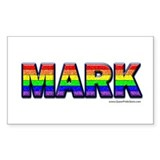 QPS N Mark: Rectangle Decal