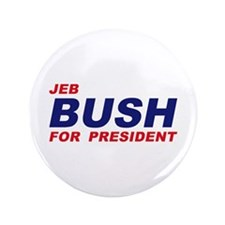 "Jeb Bush for President 3.5"" Button"