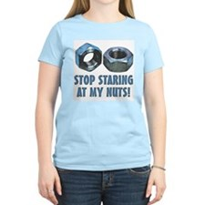 Stop Staring At My Nuts T-Shirt