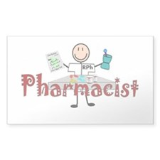 pharmacists II Rectangle Sticker 50 pk)