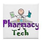 pharmacists II Tile Coaster