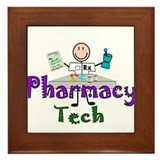 pharmacists II Framed Tile
