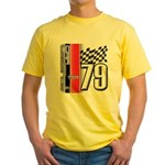 Mustang 1979 Yellow T-Shirt