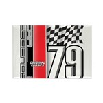 Mustang 1979 Rectangle Magnet (100 pack)