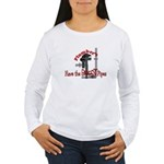 plumbers Women's Long Sleeve T-Shirt