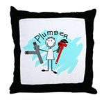plumbers Throw Pillow