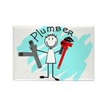 plumbers Rectangle Magnet (100 pack)