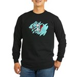 plumbers Long Sleeve Dark T-Shirt