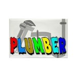 plumbers Rectangle Magnet (10 pack)