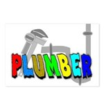 plumbers Postcards (Package of 8)