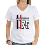 Mustang 1975 Women's V-Neck T-Shirt