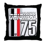 Mustang 1975 Throw Pillow