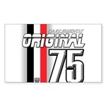 Mustang 1975 Rectangle Sticker 50 pk)