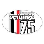 Mustang 1975 Oval Sticker (50 pk)