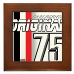 Mustang 1975 Framed Tile