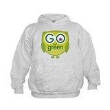 Go Green Owl Hoodie