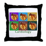 Cardiac Nurse/Physician Throw Pillow