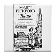 Mary Pickford ROSITA Tile Coaster