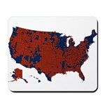 County Results 2008 President Mousepad