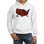 County Results 2008 President Hooded Sweatshirt