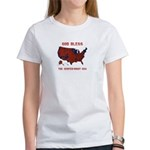 County Results 2008 President Women's T-Shirt