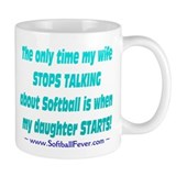 Wife Talks Coffee Mug