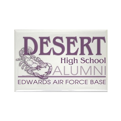 DHS Alumni Logo Rectangle Magnet