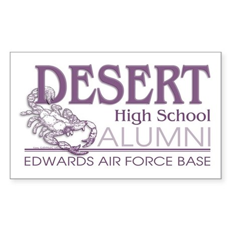 DHS Alumni Logo Rectangle Sticker