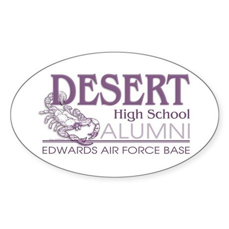 DHS Alumni Logo Oval Sticker