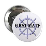 "First Mate Ship Wheel 2.25"" Button (100 pack)"