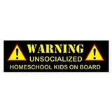 Cute Homeschool Bumper Sticker